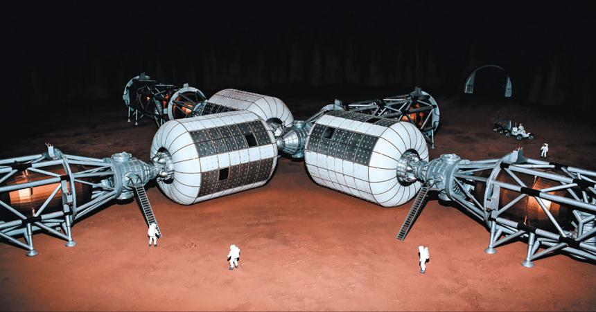 11 Operational Elements International Mars Research Station