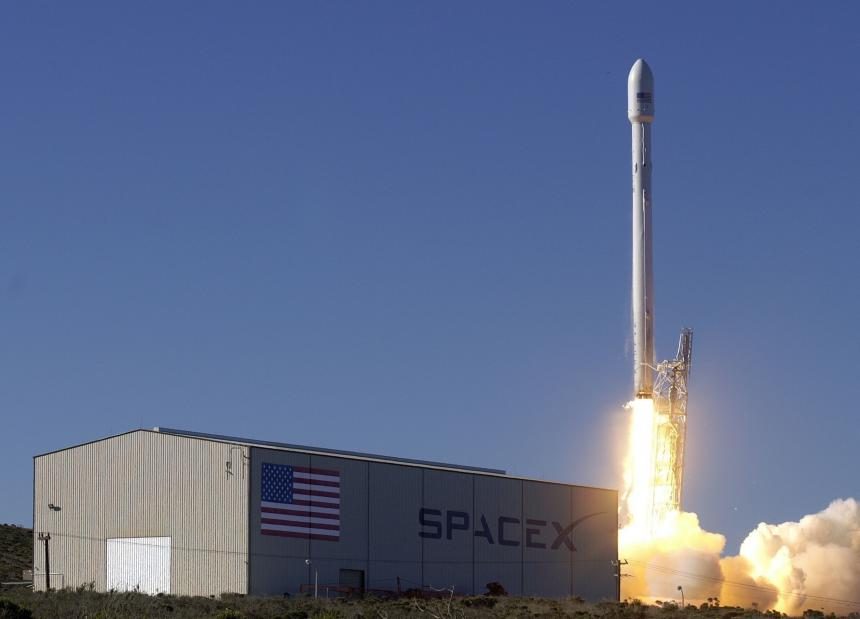 Launch of a Falcon 9